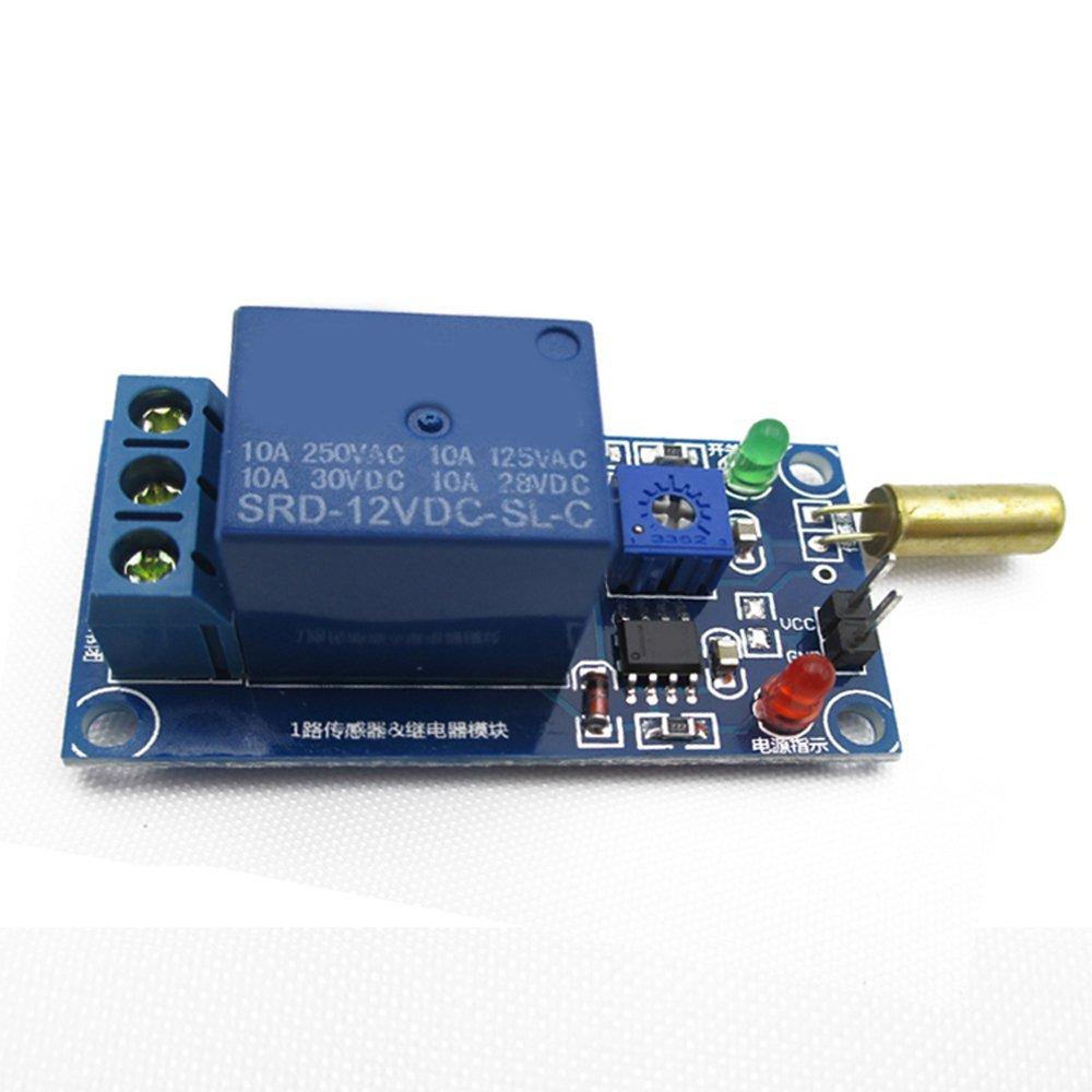 Sensor De Nubes Modulo De Rele 12V Sensor De Tilt Plus ...