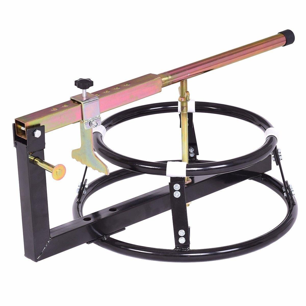 Black Iron Portable Motorcycle Bike Tire Changer fir 16'' Wheels Tires