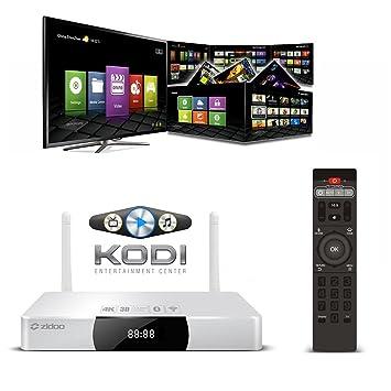 Amazon com: Zidoo X9 Android Smart Tv Box support Media