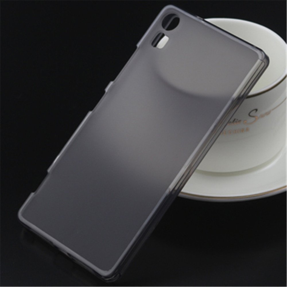 Tip Top Lenovo Vibe Shot Protective Case Transparent Grey Smartphone Soft Silicone Tpu Back Cover For Z90 7 5 Inchgray Cell Phones