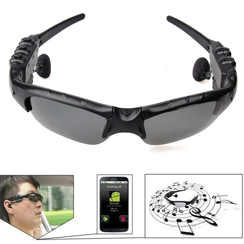 QTDS Stereo Headset Sports Outdoor Intelligent Riding Outdoor Wireless Bluetooth Glasses The Sun Glasses Tornado Cycling Running Sports Sunglasses