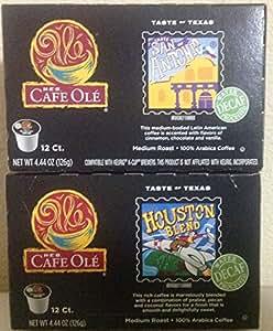 Cafe Ole Taste Of Texas Decaf Bundled San Antonio Houston