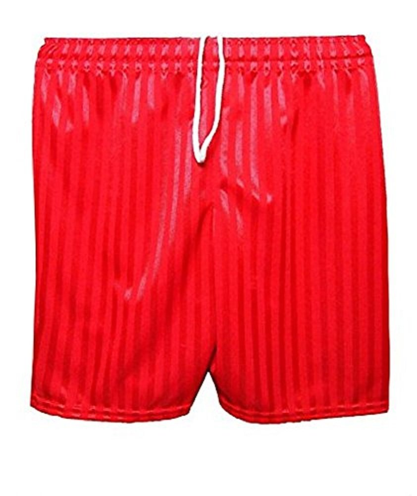 Boys Girls children PE Sports Football Cycling Shaddow Stripe School Uniform Shorts Drawstring Age 2-13 Years