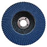 "Pack of 50, 4-1/2"" X 7/8"" 60 Grit Angle Grinder Zirconia Flap Disc"