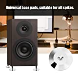 8 Pcs Speaker Feet Base Pad 25 x 4mm Speaker Shock