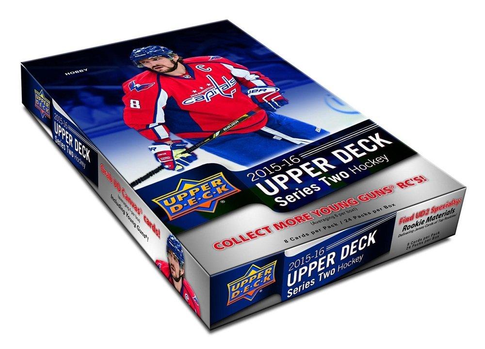 2015/16 Upper Deck Series 2 Hockey Hobby Box 2015-16 Series 2