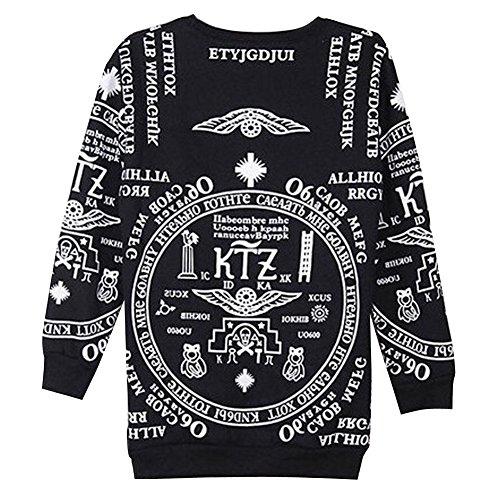 Sweaters 3D Print KTZ Bigbang Bandana Pirex Pullover Sweatshirts Medium
