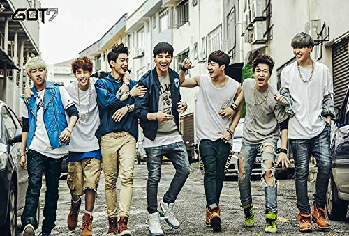 Got7 갓세븐 JYP K-POP Boy Band Music Korean Poster Size 2