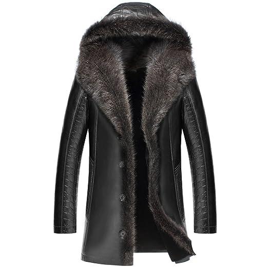 CWMALLS® Custom Hooded Shearling Fur Coat CW836065