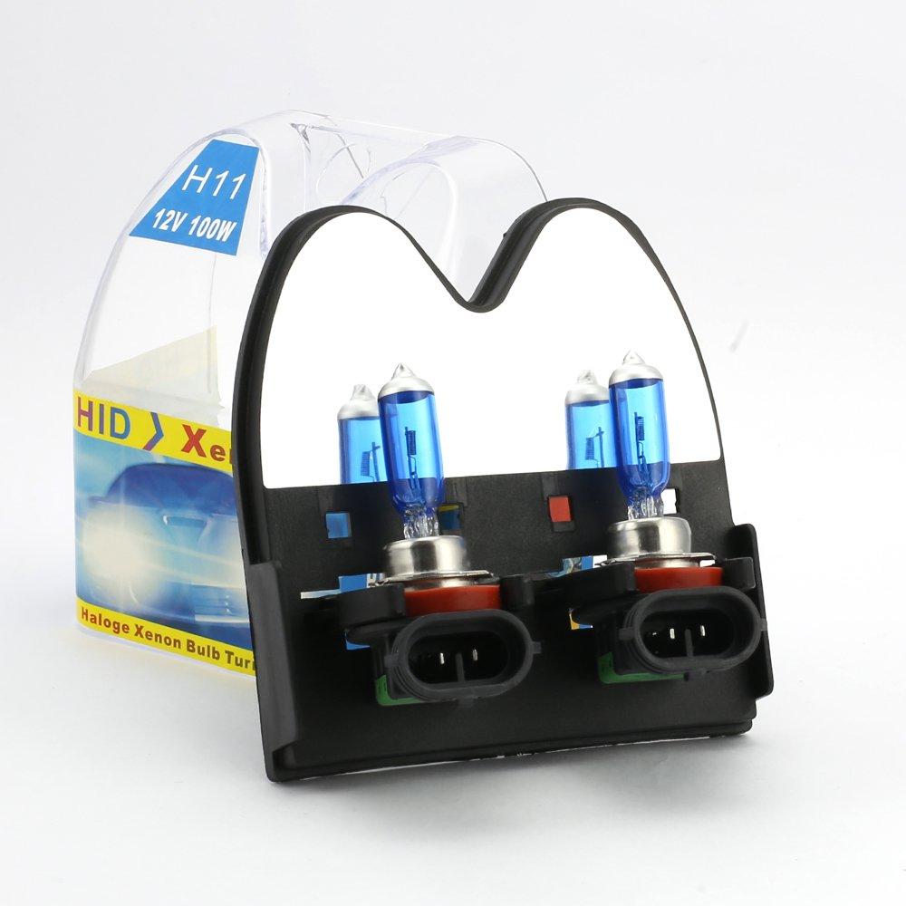 9005 HB3 100W 12V Car Headlight Bulb Xenon Gas Halogen Light Fog lamp White