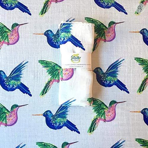 - Saltwater Swaddles - Highflying Hummingbird Swaddle
