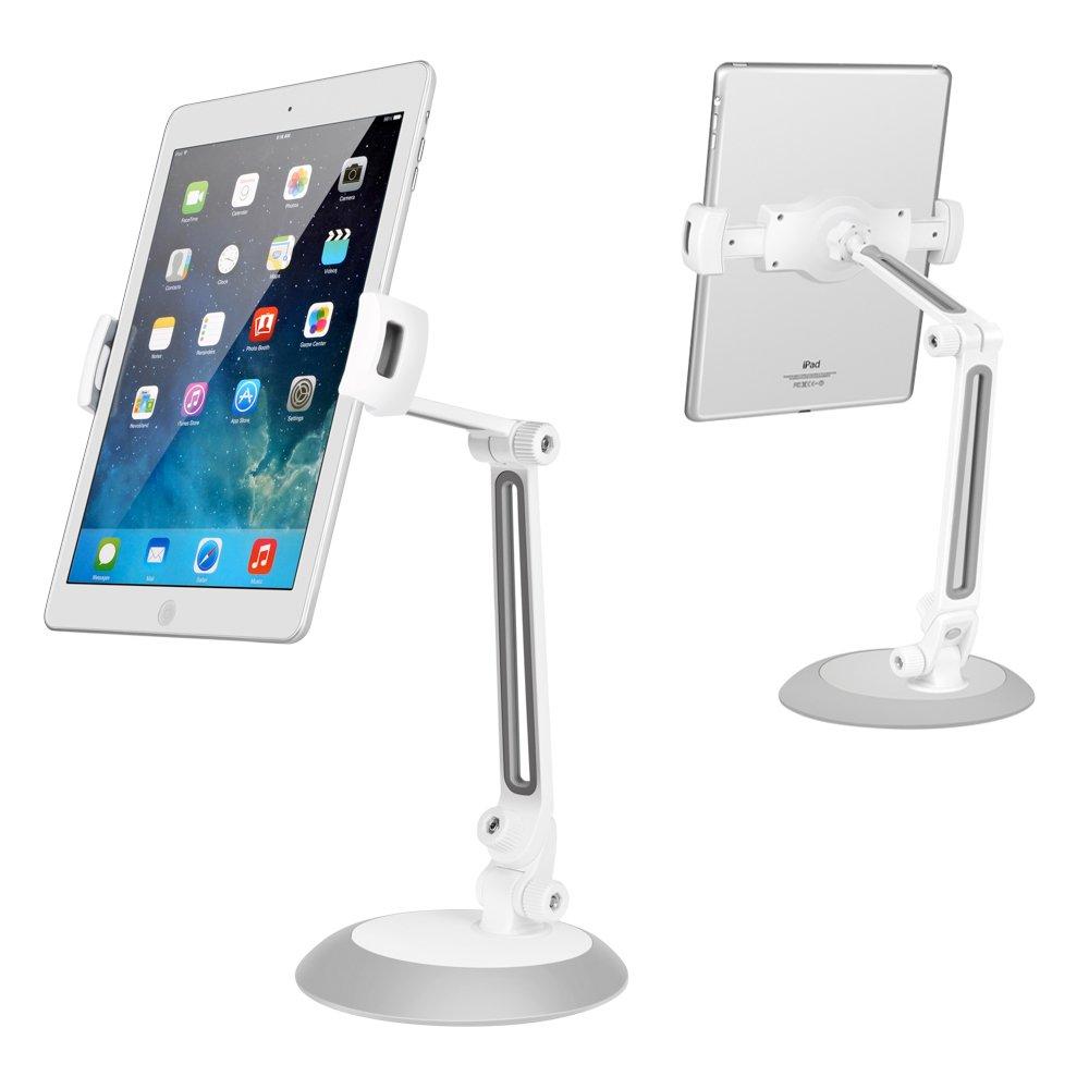 360 Degree Adjustable Tablet Holder Stand for Tablets iPads iPhones Samsung and Other Smartphones for Desk,Bed,Kitchen