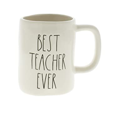 Rae Dunn by Magenta BEST TEACHER EVER Ceramic LL Coffee Mug