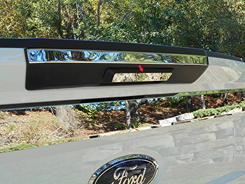 QAA fits 2017-2019 Ford F-250 & F-350 Super Duty (1 Piece Stainless Tailgate Handle Accent Trim) TGH57320