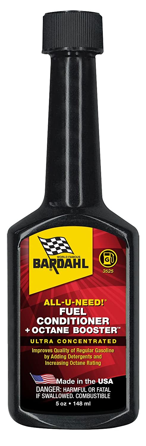Bardahl 3525-CS Fuel Conditioner + Octane Booster - 5 fl. oz.  (Case of 12)