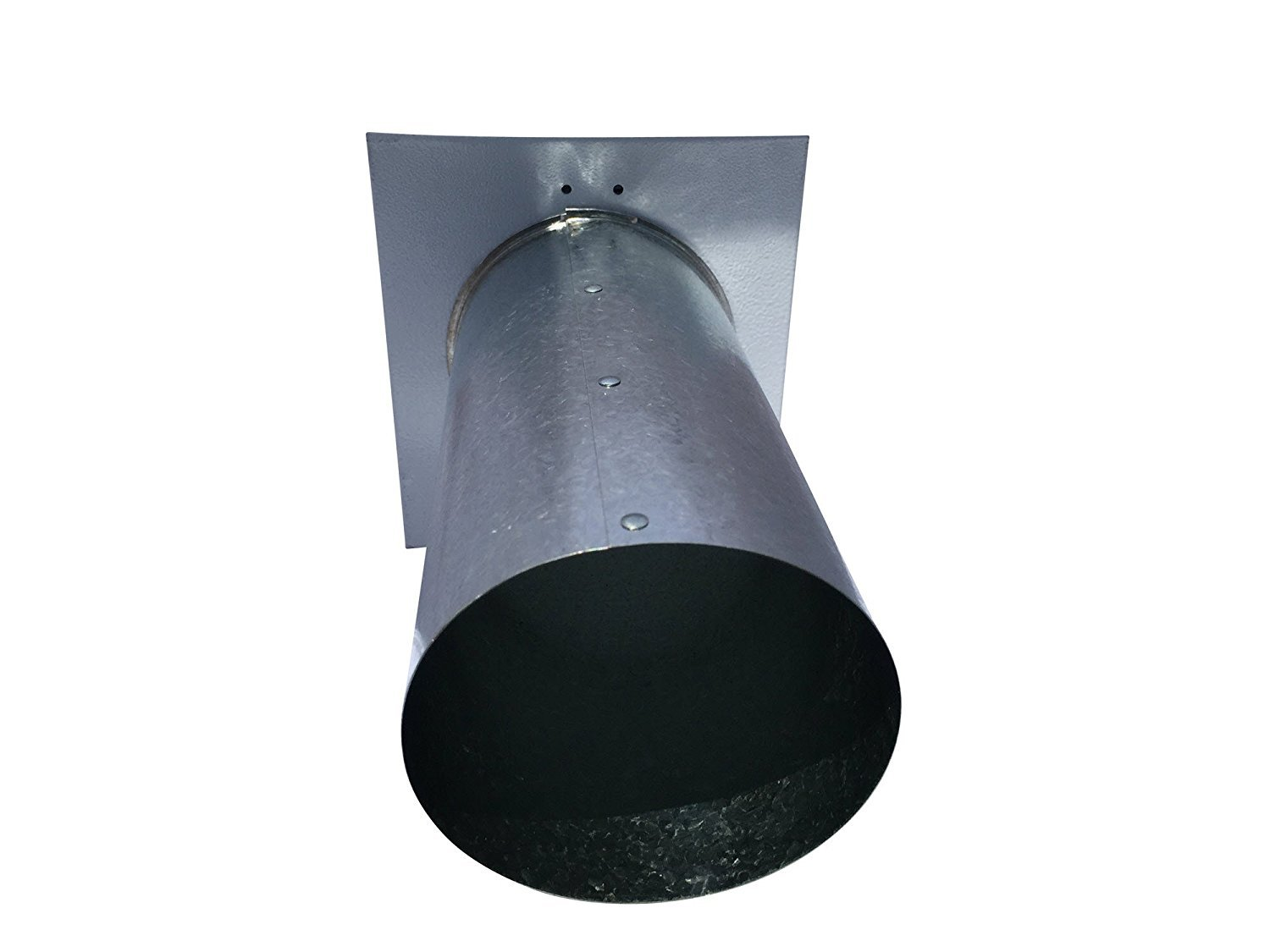 4 Inch Wall Vent Painted White Screen Only (4 Inch diameter) - Vent Works by Vent Works (Image #2)