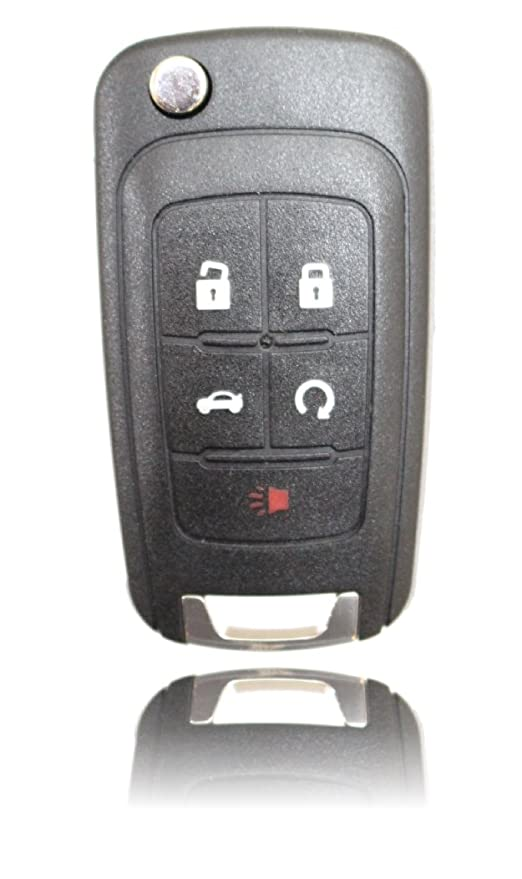 New Keyless Entry Key Fob Remote For A 2010 Chevrolet Equinox 5 Button Flip Key
