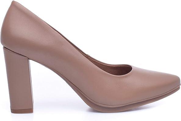 Urban SALÓN - Zapato de salón Taupe: Amazon.es: Zapatos y complementos