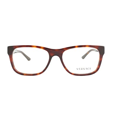4deeadef6e Image Unavailable. Image not available for. Color  Versace Men s VE3199A  Eyeglasses Havana 55mm