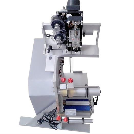 Cueffer Máquina Semiautomática de Etiqueta 220V 150W Máquina Etiquetadora Máquina Etiquetadora para Botellas Redondas Máquina de Etiquetado: Amazon.es: ...