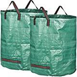 GardenMate pack of 2 extra large 500L PROFESSIONAL garden waste bags (H86 cm, D86 cm)