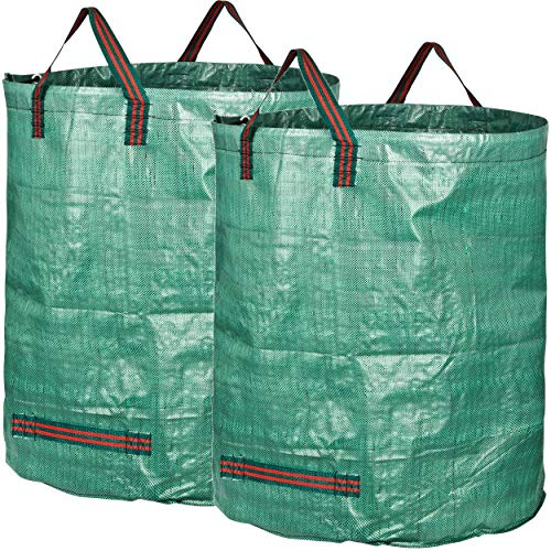 GardenMate 2-Pack 106 Gallons Professional Garden Waste Bags (H31, D31 inches)