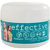 Gel reductivo de abdomen, celulitis y quema grasa, marca EFFECTIVE, Fácil absorción, no pegajoso, sensación refrescante, colo