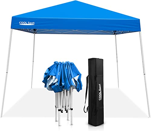 COOL Spot 10 x 10 Slant Leg Pop Up Canopy Tent