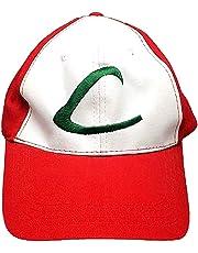 1pc Deportes Pokemon Pokemon Ash Ketchum Cap Gorra de béisbol para Cosplay