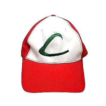 1pc Deportes Pokemon Pokemon Ash Ketchum Cap Gorra de béisbol para Cosplay 8e7029413ca