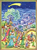 Holy Three Kings Nativity Scene Advent Calendar Approx 10.5'' x 14'' (70112)