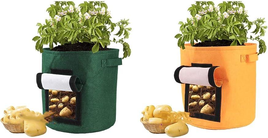Pommes de Terre Sac de Plantation, Jardin, épais intissé Pot