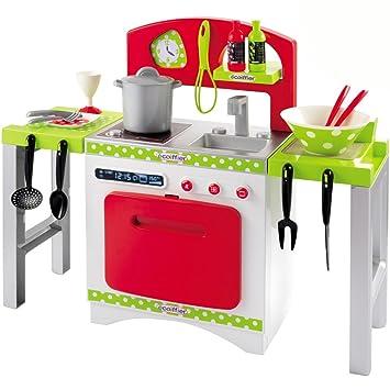 Unbekannt Gourmet Spielküche mit Backofen, Spüle und Herd, 64 x 54 ...