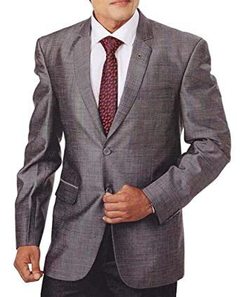 INMONARCH Hombres 4 Pc Smoking traje gris de aspecto moderno ...