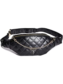 GUESS Factory Womens Logo Plaque Fanny Pack
