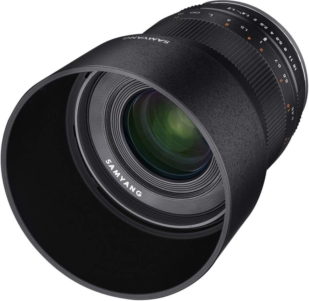 Samyang CSC-Mirrorles - Objetivo fotográfico para Fuji X (35 mm, F1.2 ED, AS UMC), Negro