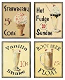 Malt Shop III Shake Art Print Poster by Catherine Jones, 11 x 14
