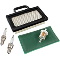 AISEN Service Kit Luchtfilter bougie geschikt voor Motor 406777 4025A7 403677 404577 4045A7 18HP - 20HP OHV V-Twin…