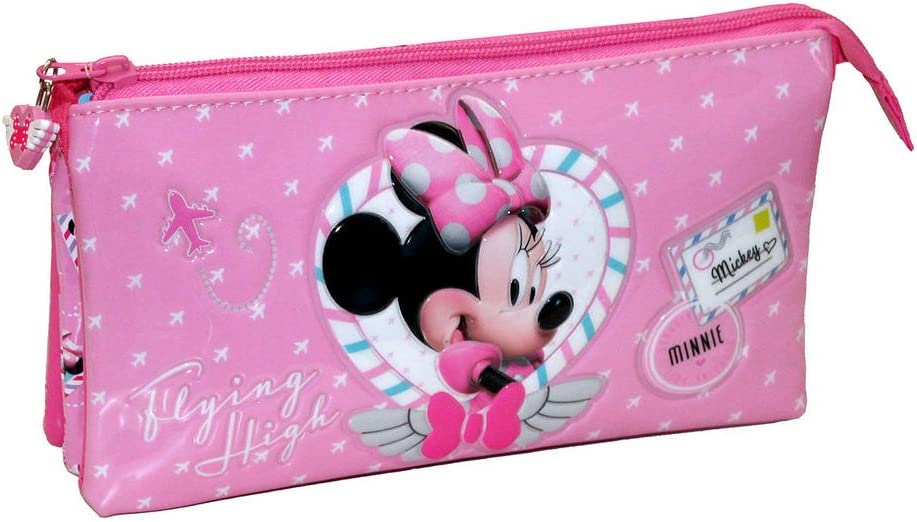 Disney Neceser de Viaje, Estuche Minnie, Rosa: Amazon.es: Equipaje
