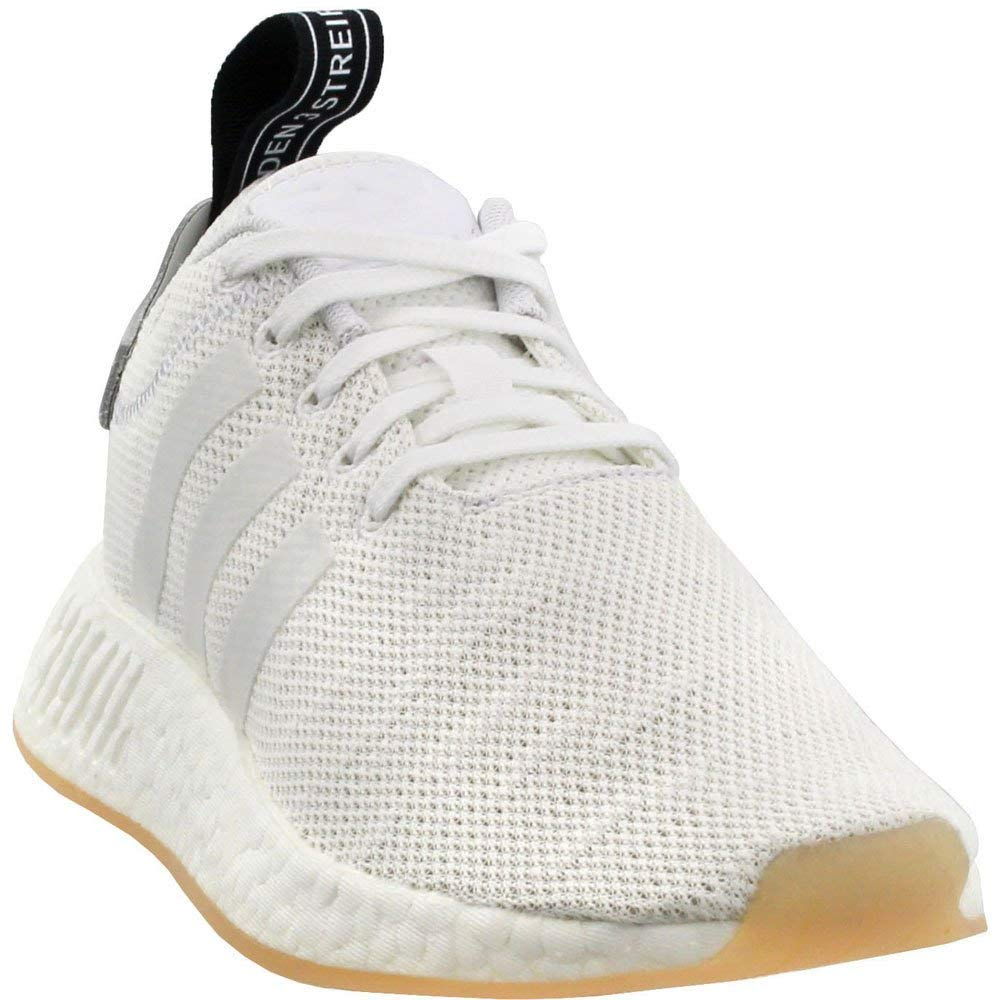best cheap d1559 196bf adidas Women's Originals NMD_R2 Shoes Crystal White, White, Core Black 6  B(M) US