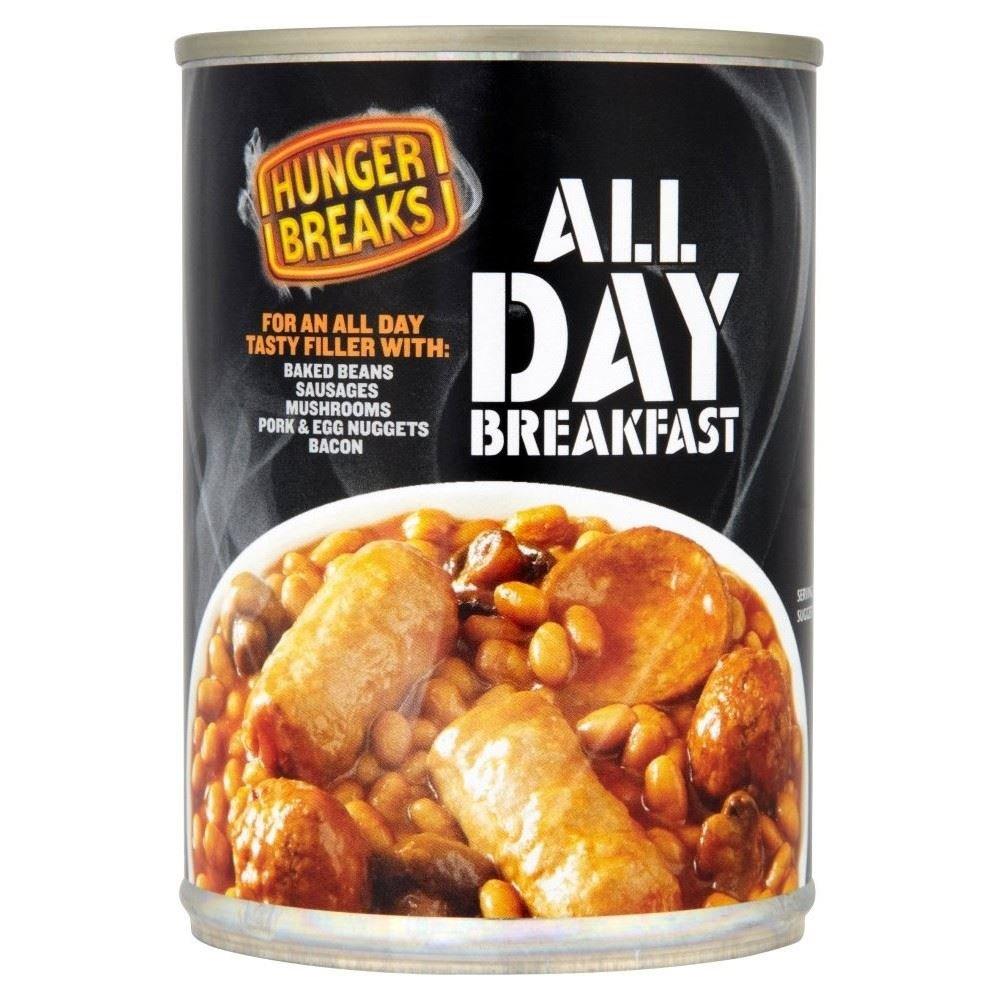 Hunger Breaks All Day Breakfast (395g)
