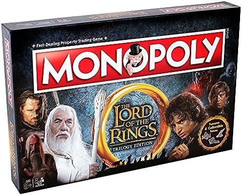 Winning Moves Señor de los Anillos Monopolio Juego de Tablero: Amazon.es: Juguetes y juegos