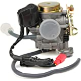 Scooter Carburetor 49cc 50cc 4 Stroke GY6 Engine with Fuel Filter