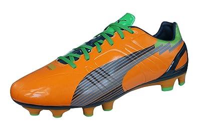 6b1462a0cc4b3 PUMA Evospeed 3 FG Mens Soccer Boots Cleats-Orange-8.5