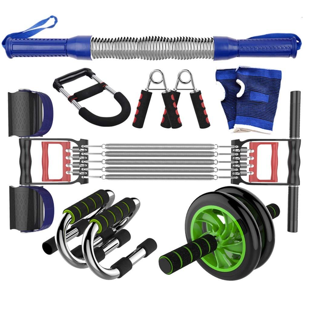 家庭用フィットネス機器、多機能トレーニングセットメンズチェストエキスパンダースポーツ用品ムーブメントアームバープーラーストレングストレーニング B07HF99JDP 30KG|B B 30KG