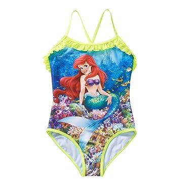 e22d14fa08ab1 Disney Princess The Little Mermaid Ariel One Piece Swimsuit (6/6X)
