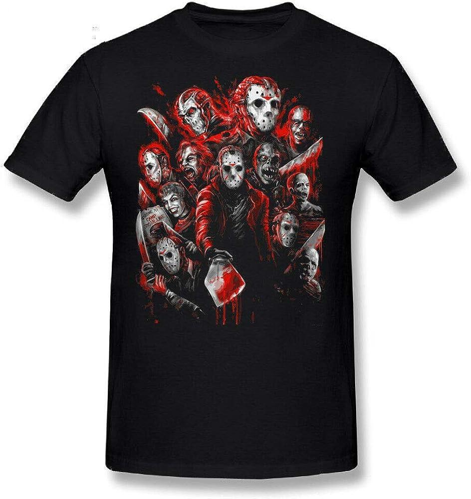 Spooky Halloween Horror Characters Inspired Tee Top Jason Voorhees T-Shirt