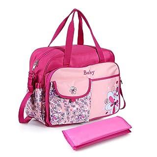 Chinatera Waterproof Large-capacity Diaper Bag Mummy Bag Maternity Handbag (Blue) chinatera-ca