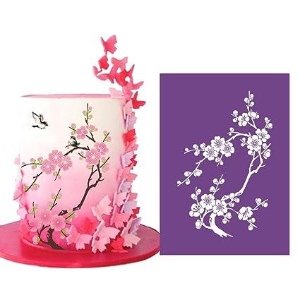 Art Kitchenware 13 4 7 5 Large Alencon Lace Mesh Stencil