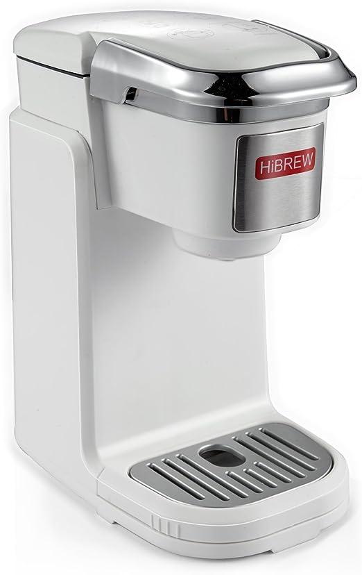 Amazon.com: HiBREW - Cafetera compacta de una sola porción ...